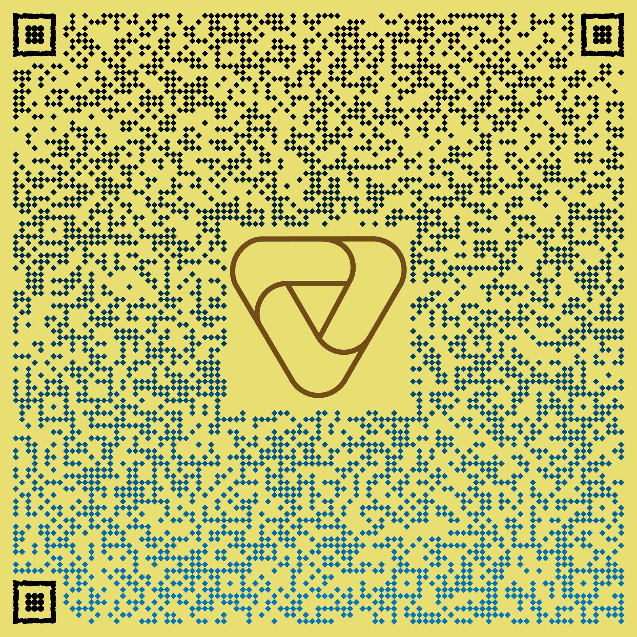 QR kód s kontaktními údaji na Obchod Podlahy