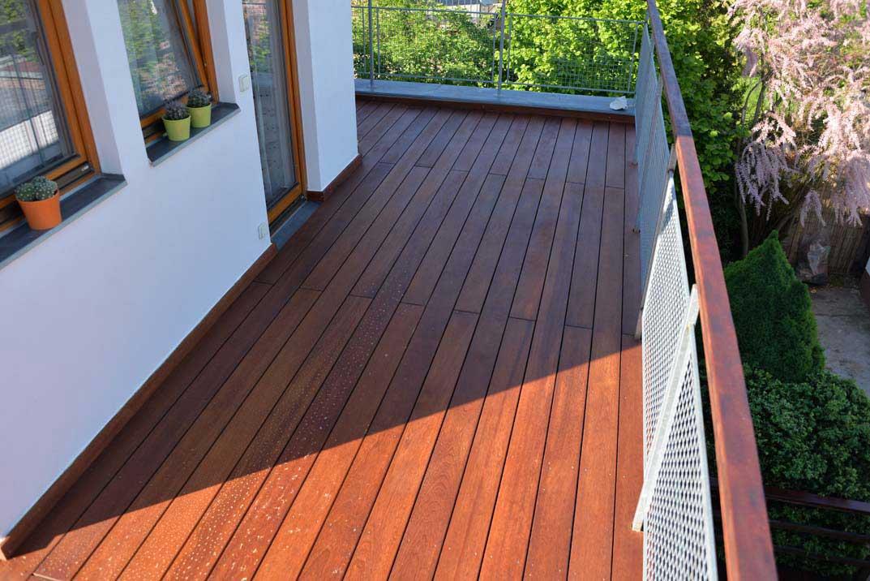 Dřevěné terasy Amargoso