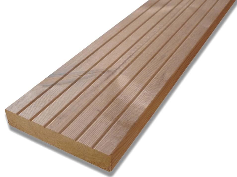 Dřevěné terasy Thermowood borovice